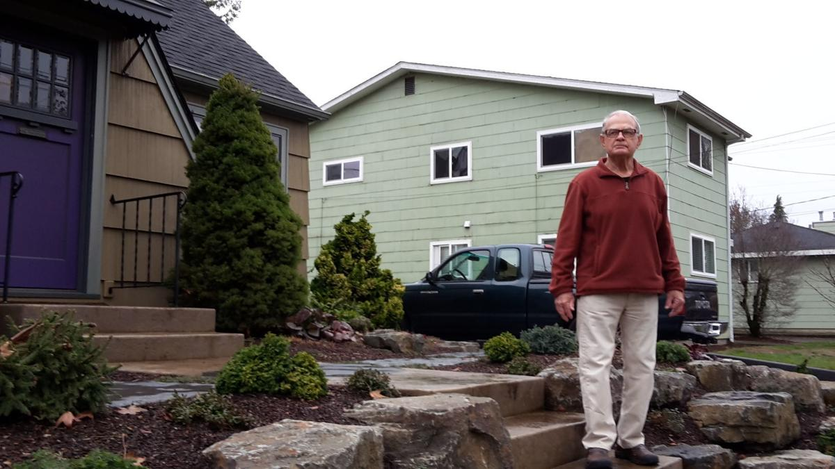 Herb heublein s parking crusade showed that sometimes one for Single person house