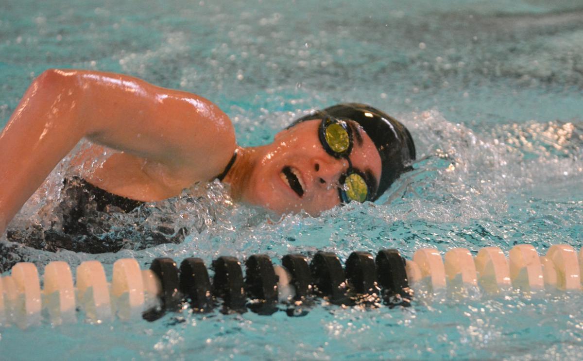 PHS swimming: Melia Morton