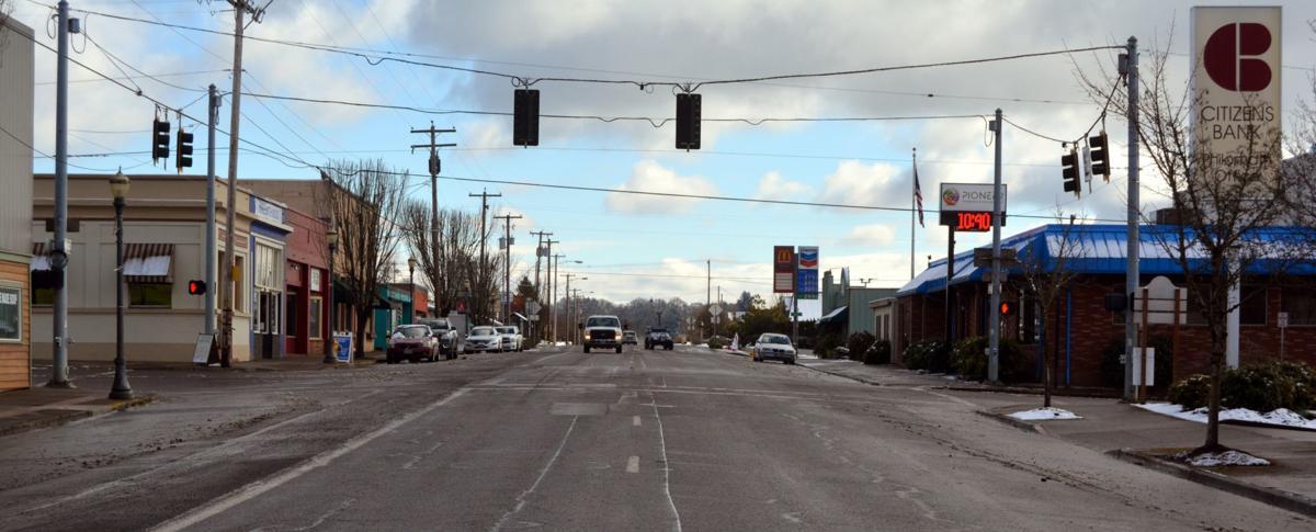 Downtown Philomath