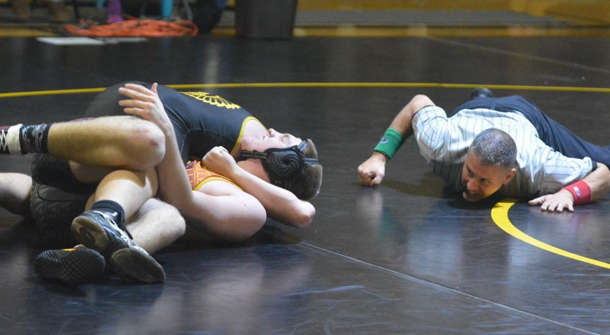 PHS wrestling: Issiah Blackburn