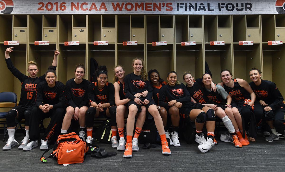 Oregon State team photo