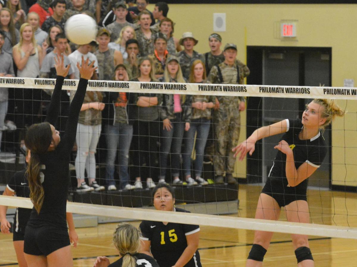 PHS volleyball: Haylie Bennett