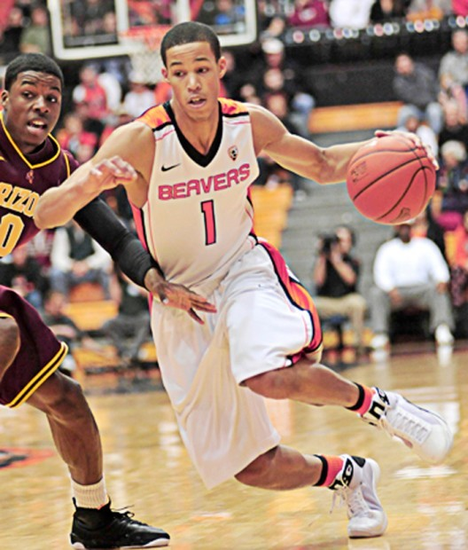 Getting to know Oregon State sophomore Jared Cunningham