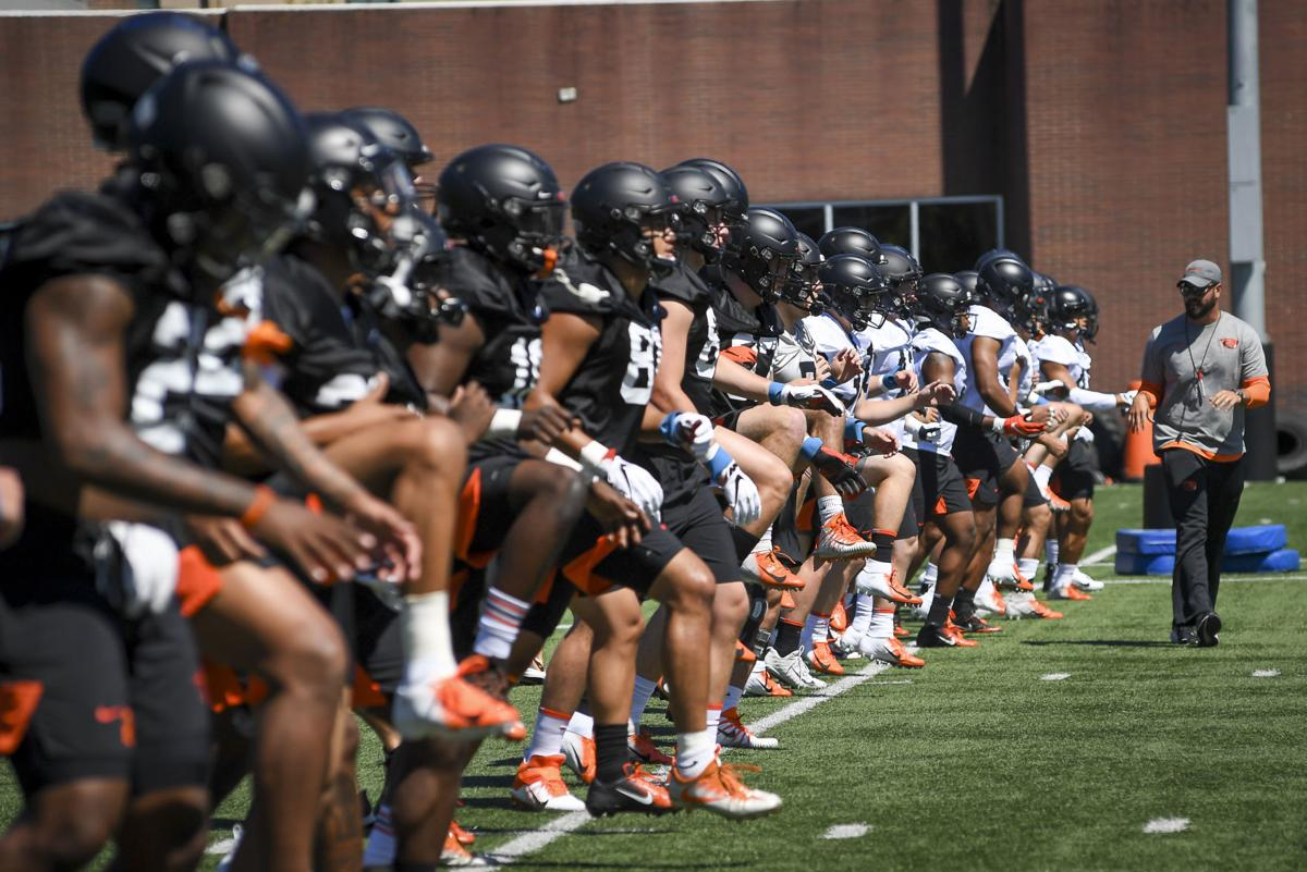 Gallery: OSU Football Practice August 1 01