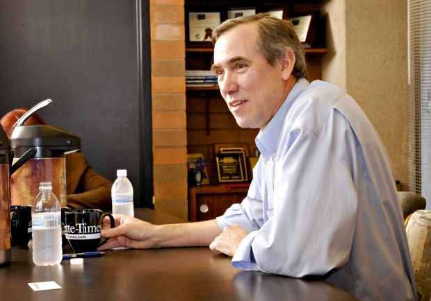 Merkley voices constituents' concerns over shaky economy