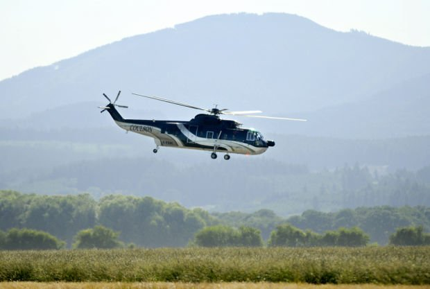 Helicopter training rerouted to Corvallis