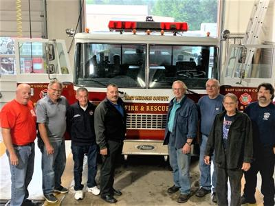 Sweet Home donates fire engine to Lincoln Fire District