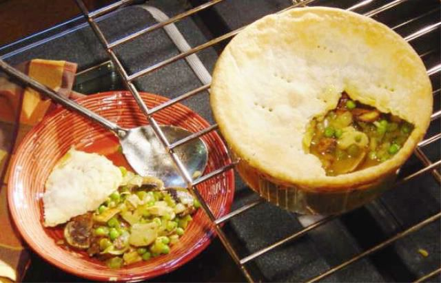 Curry powder spices up this chicken pot pie food and cooking enjoy food get dining and recipe ideas sent to your inbox forumfinder Choice Image