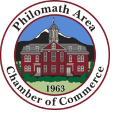 Philomath Area Chamber of Commerce logo