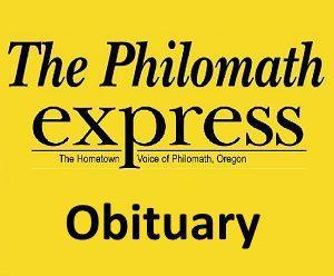 Philomath Express logo: Obituary