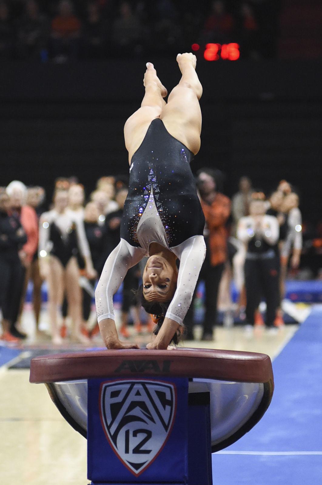 OSU gymnastics: Kaitlyn Yanish has polished her landing