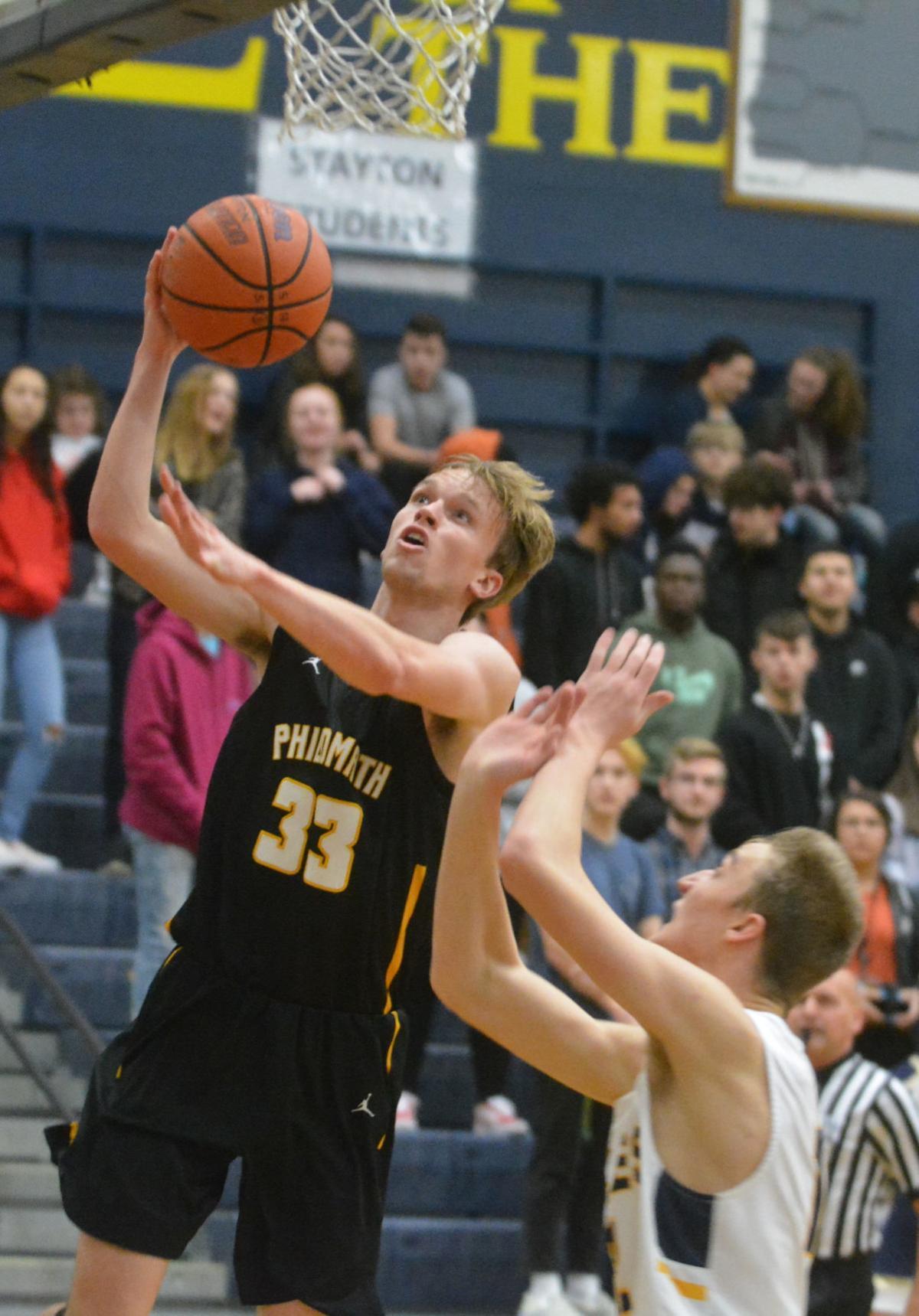PHS boys basketball: Dylan Bennett