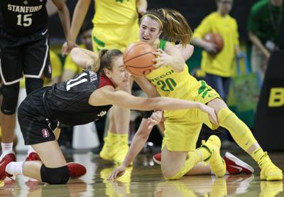 Stanford Oregon Basketball
