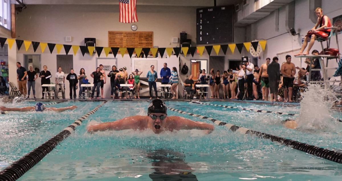 PHS boys swimming: James Dye