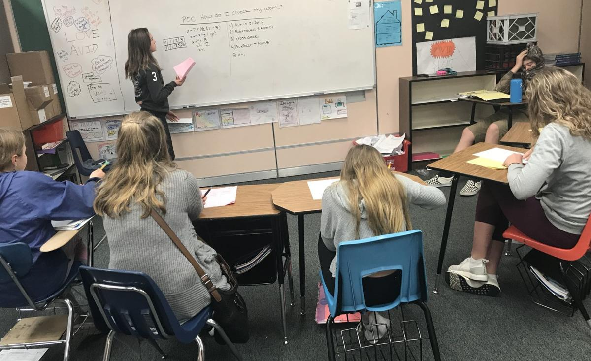 AVID in Philomath classrooms
