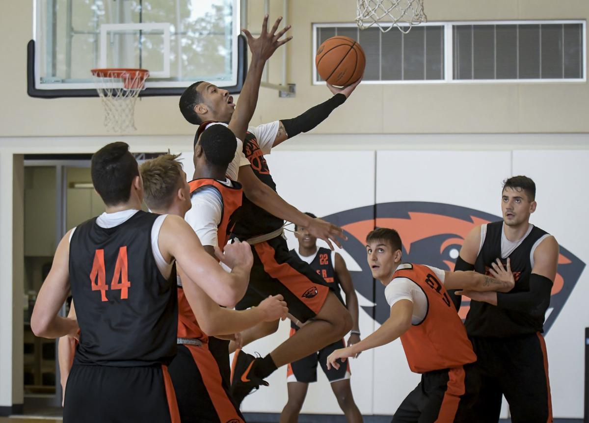 OSU Men's Basketball Practice 01