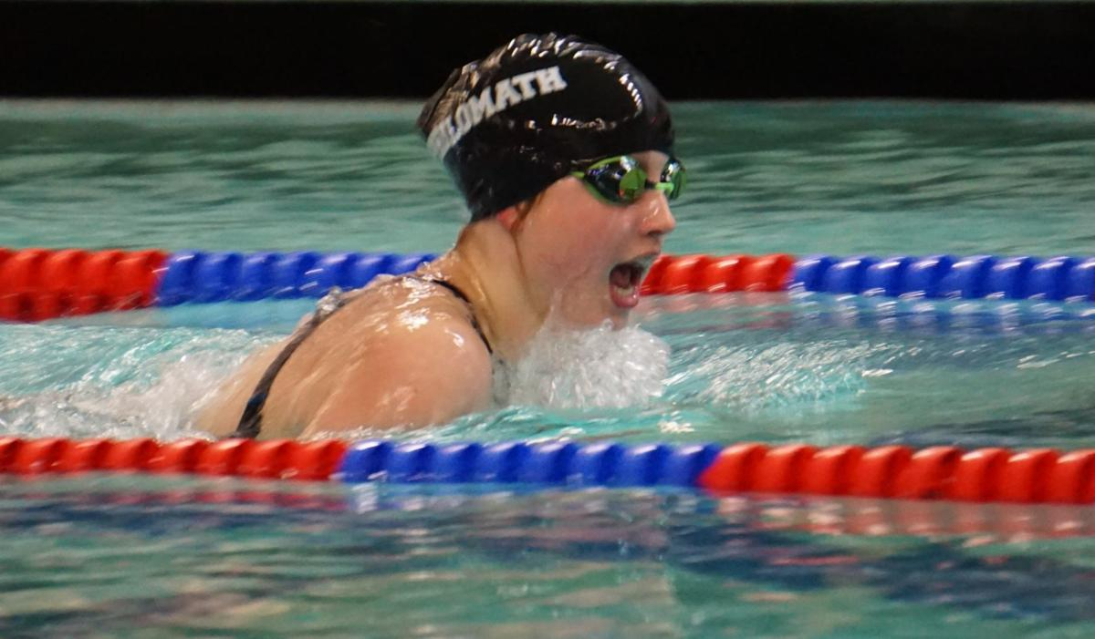 PHS swimming: Amity Coon