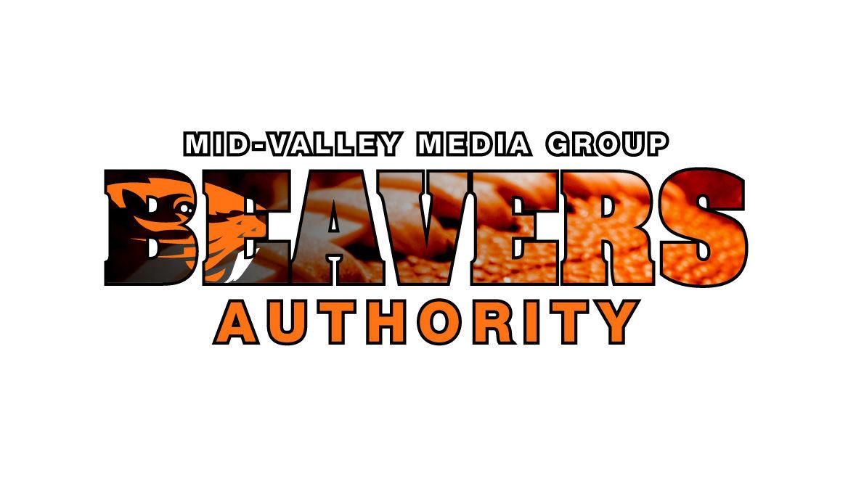 Beavers Football Logo White