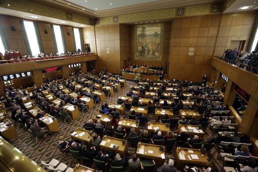 Oregon lawmakers attend inauguration despite bad weather (copy) (copy) (copy) (copy)