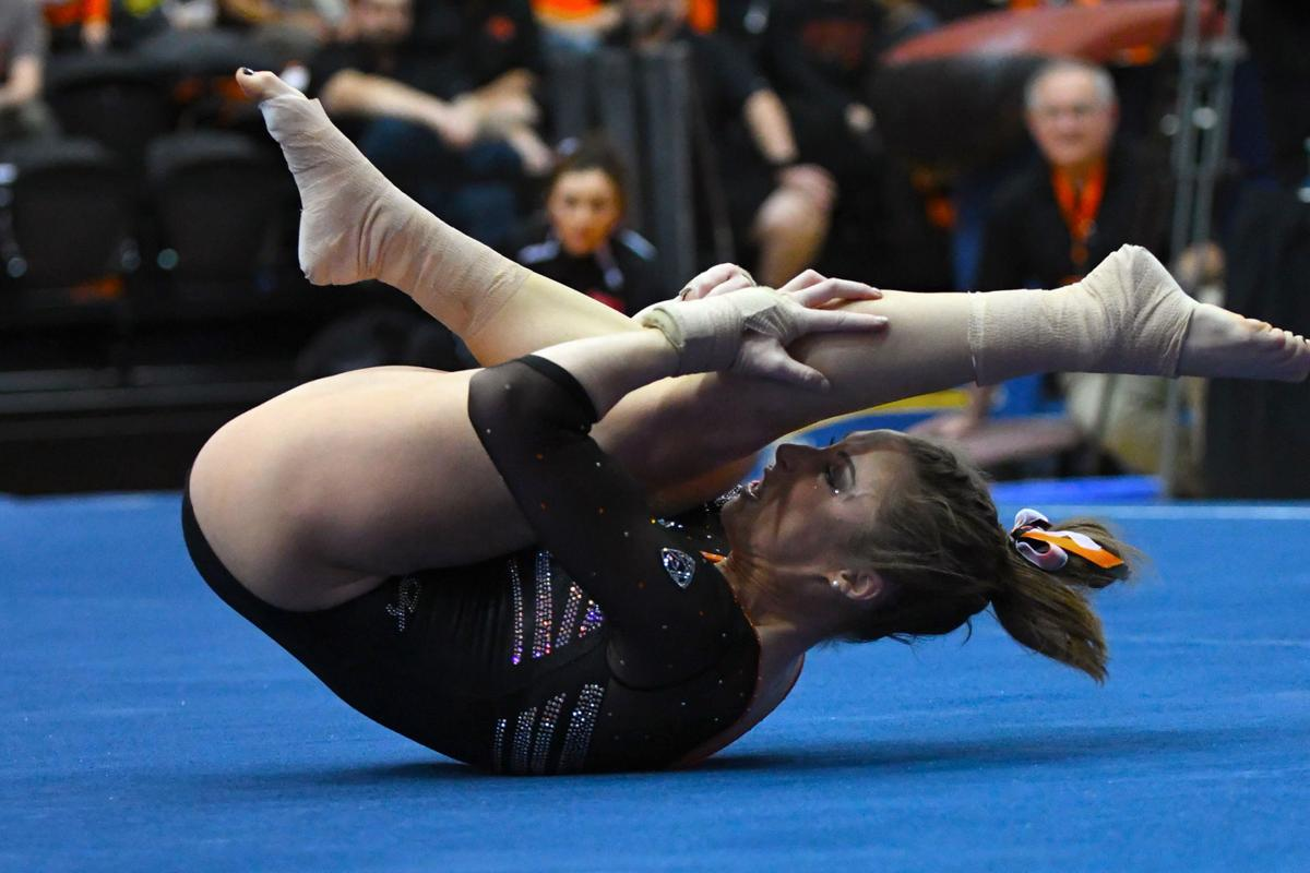 Osu Gymnastics Mcmillan Leads Beavers To Big Score
