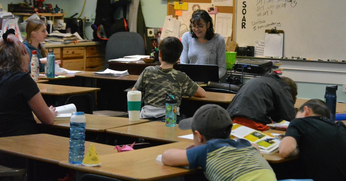 KVCS classroom: Stacey Zaback
