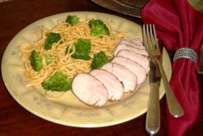 Easy pork tenderloin is spiced, smoky
