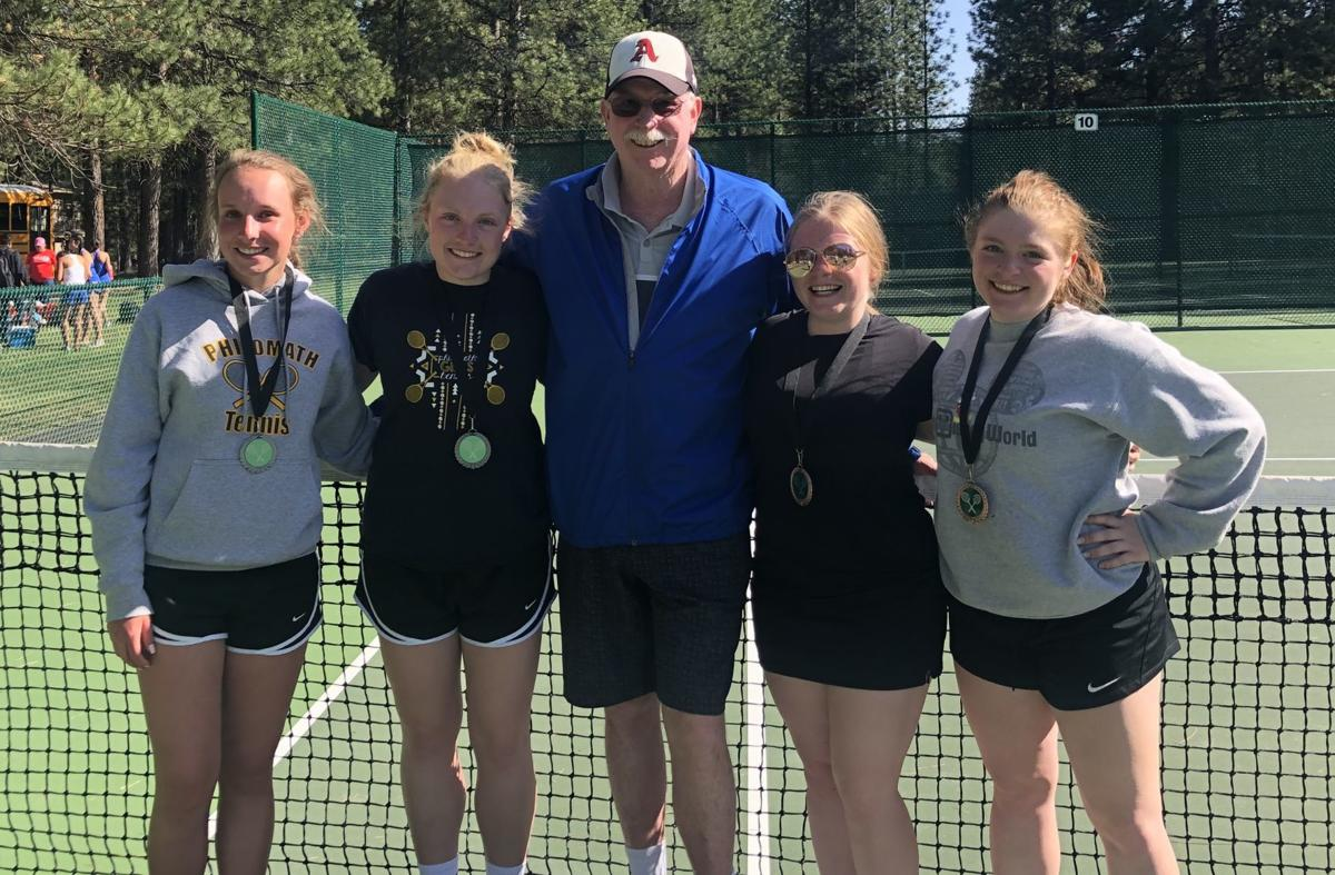 PHS girls doubles teams qualify for state