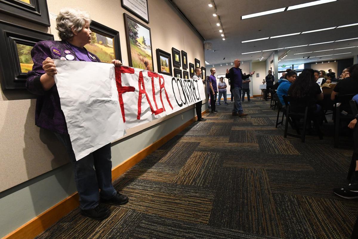Union leaders use the 'S' word | Local | gazettetimes com