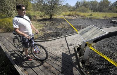 Officials investigating fire at Jackson Frazier wetland