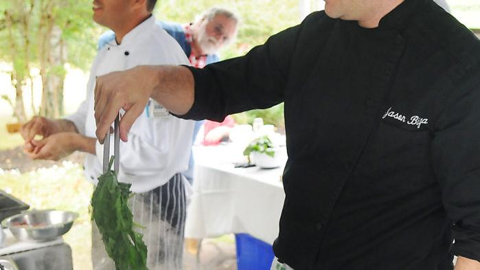 Taste invaders: Chefs dish up invasive species at Philomath dinner