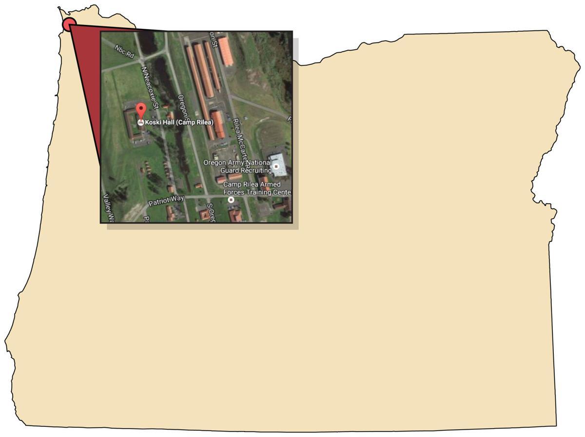 Camp Rilea Map