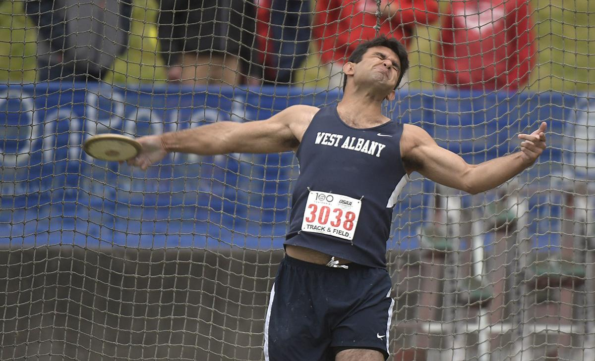 5A boys track and field: West Albany's Aiden Paul claims