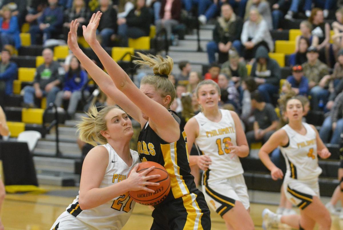 PHS girls basketball: Sydney Bradley