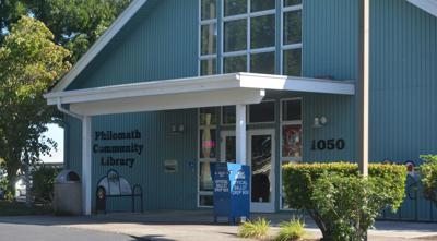 Philomath Community Library artwork