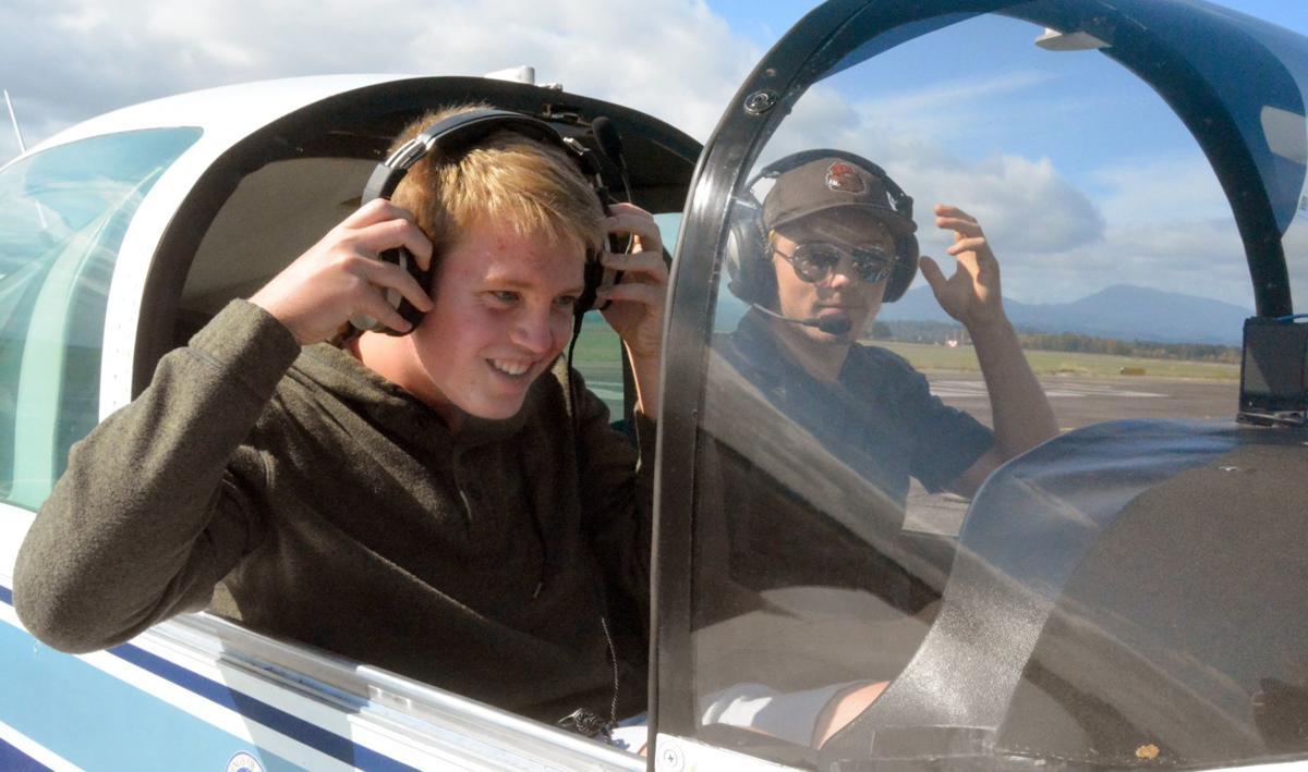 Teen pilots: Luke Haslam, Luc Barnes