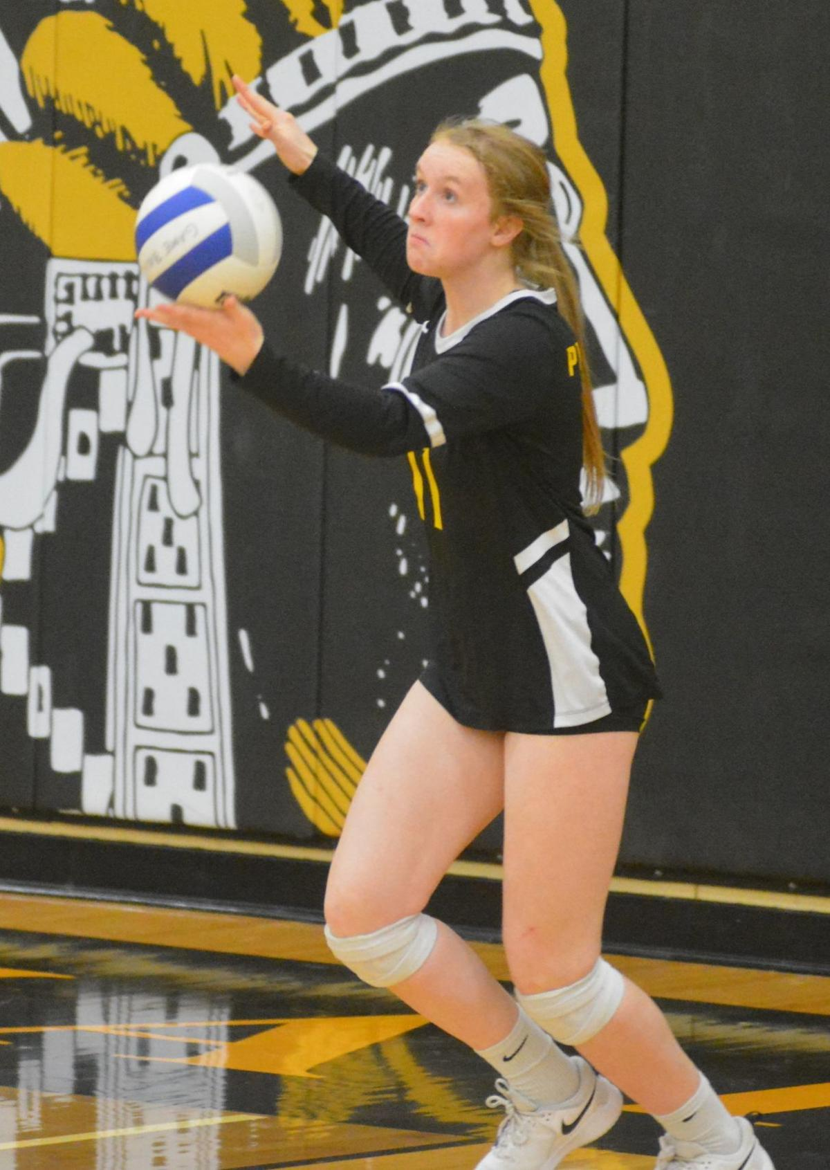 PHS volleyball: Laura Noble