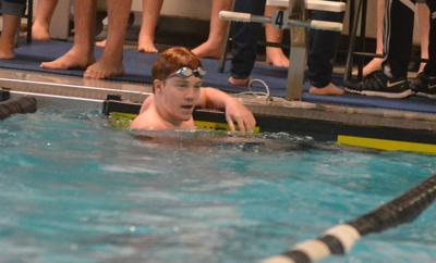 PHS swimming: James Dye