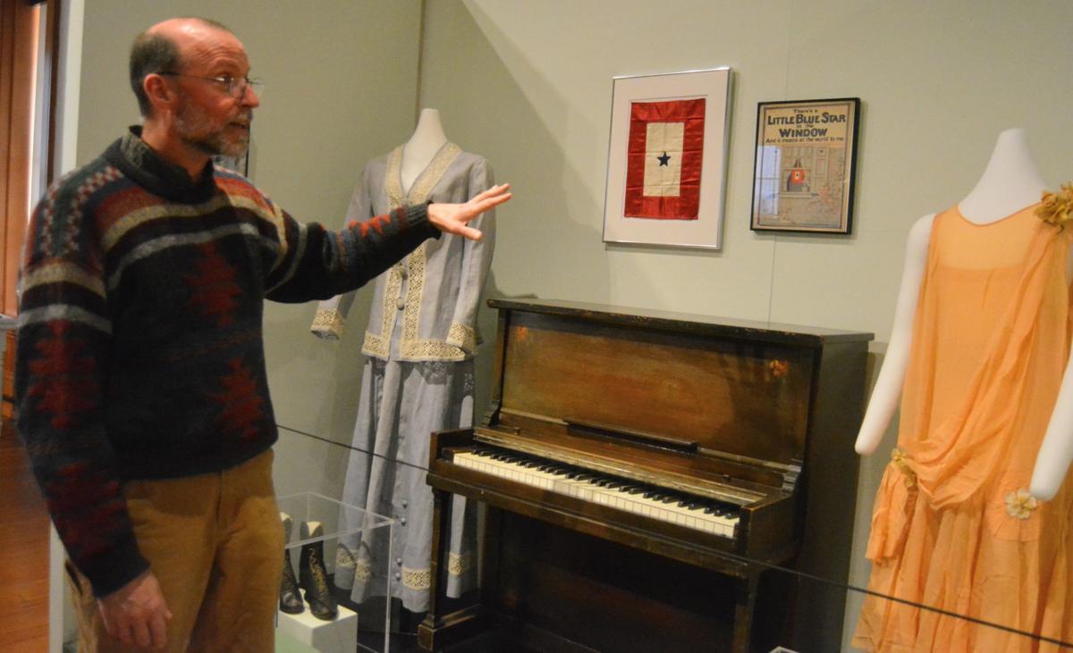 Benton County Museum curator Mark Tolonen