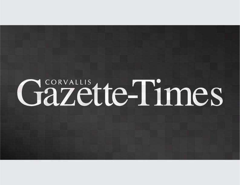Gazette Times Logo Dark Gray