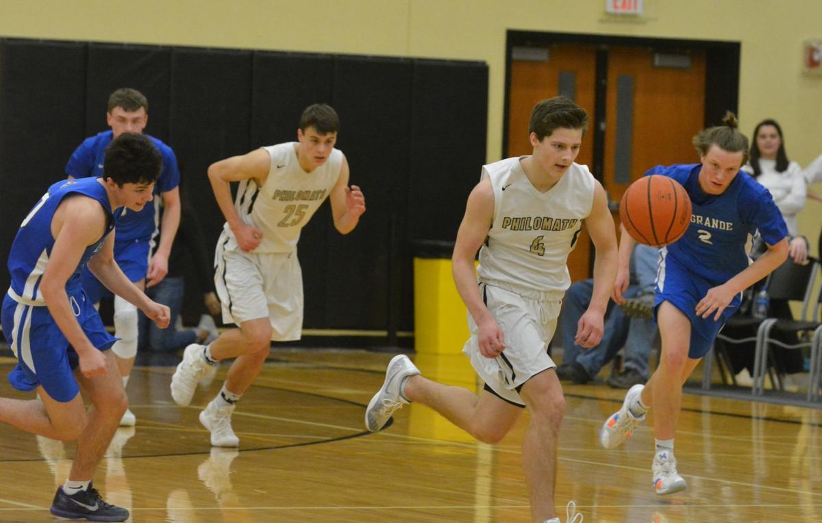 PHS boys basketball: Michael Lundy