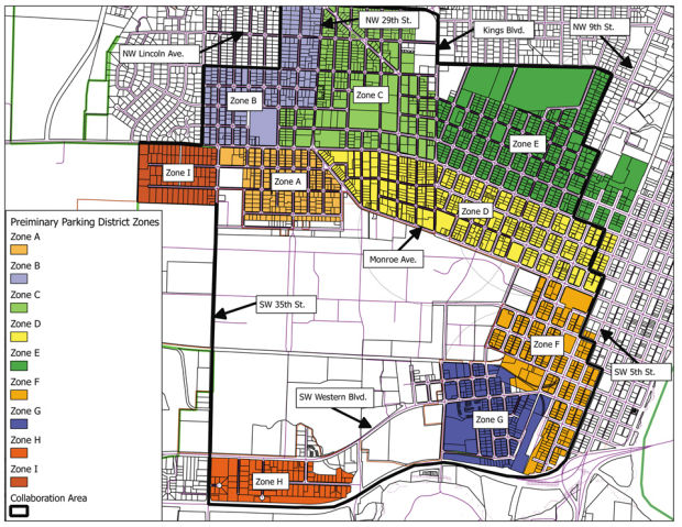 Major parking changes pitched for Corvallis Local gazettetimescom