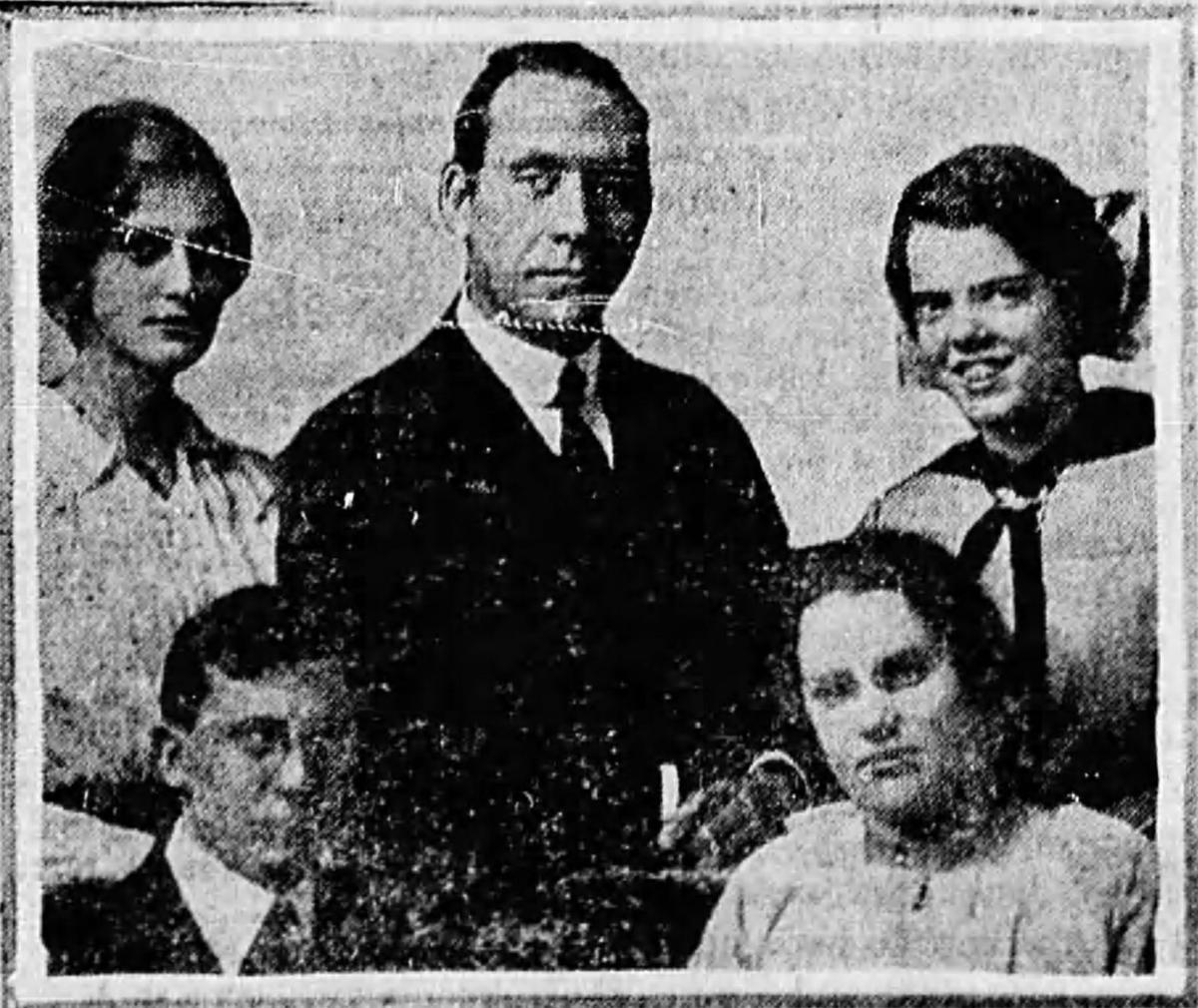 PHS debate team 1917