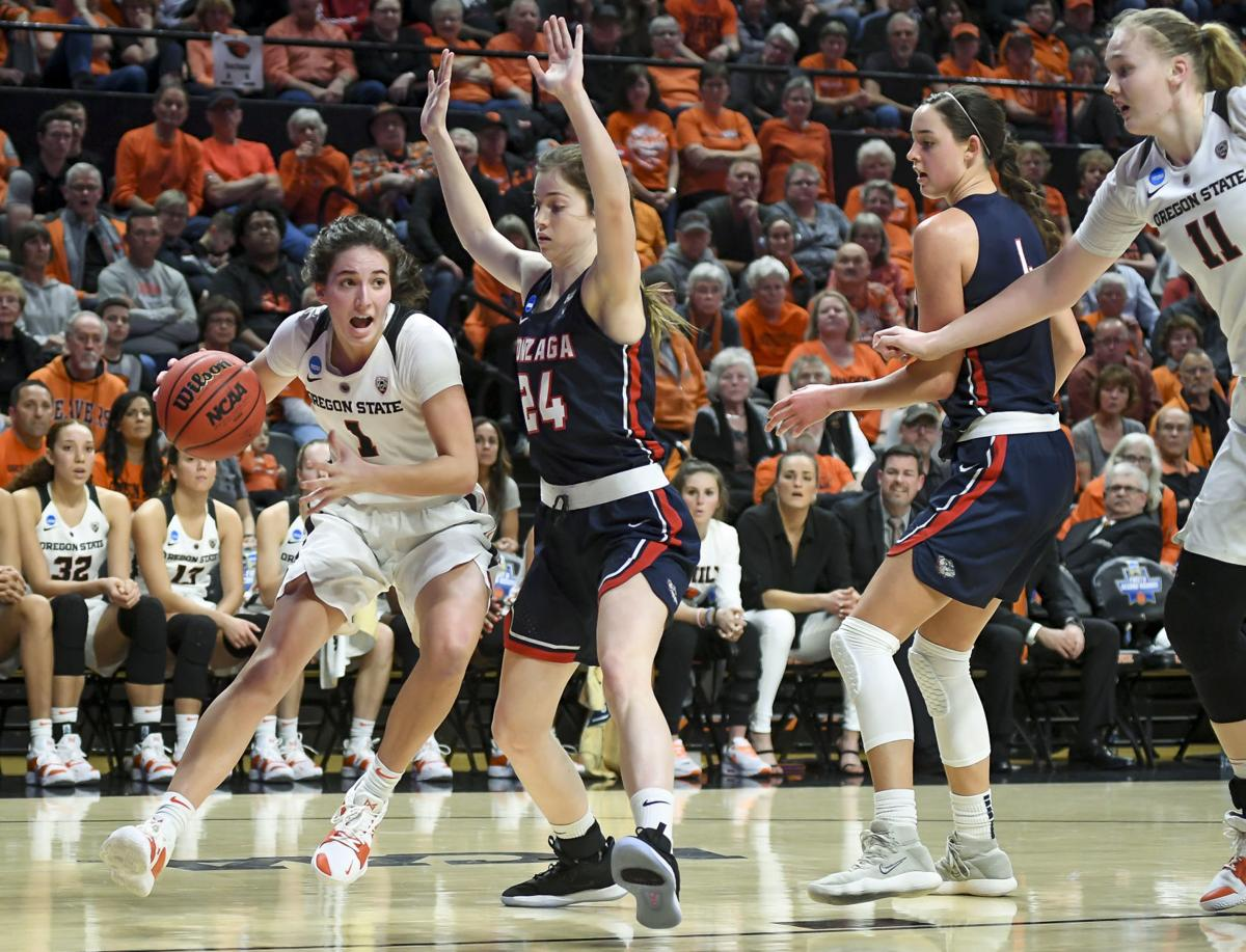 A Team Into ncaa women's basketball: beavers have grown into a team that