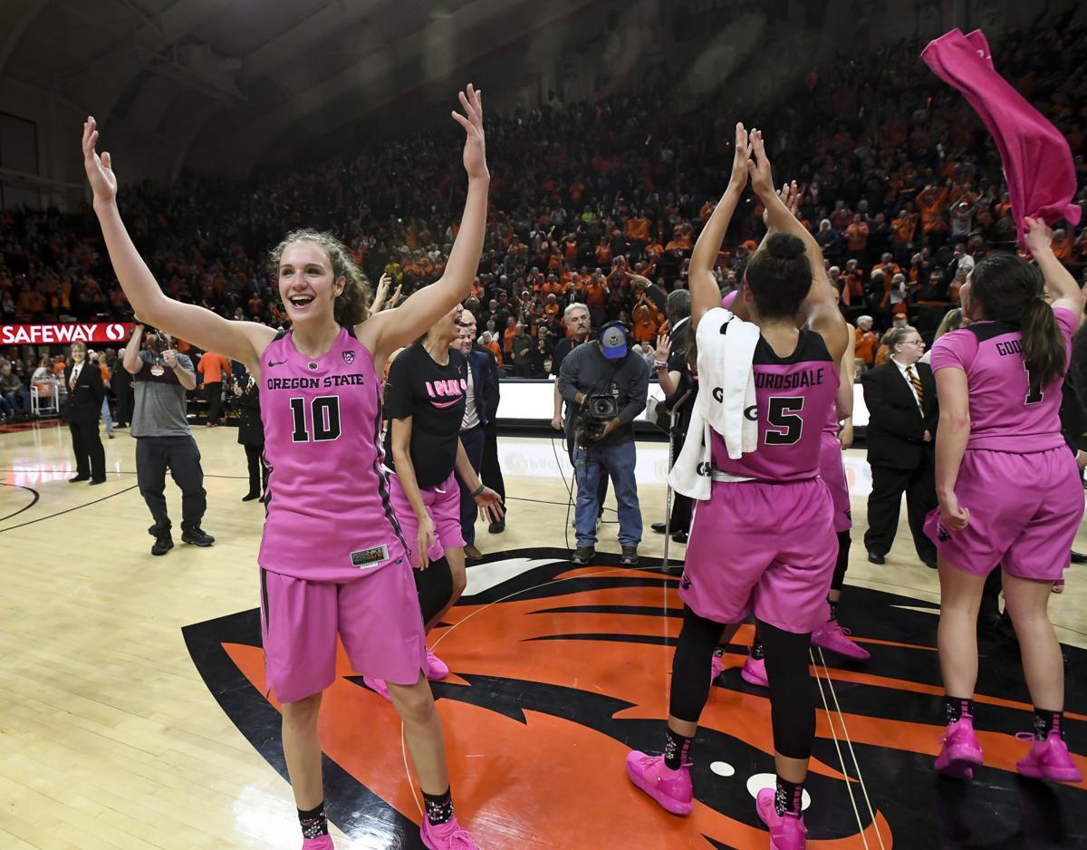 c054dd9d042 OSU women's basketball: Beavers hit free throws to fend off Ducks in Civil  War thriller