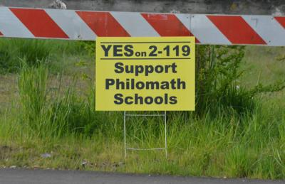 Yes on 2-119 yard sign