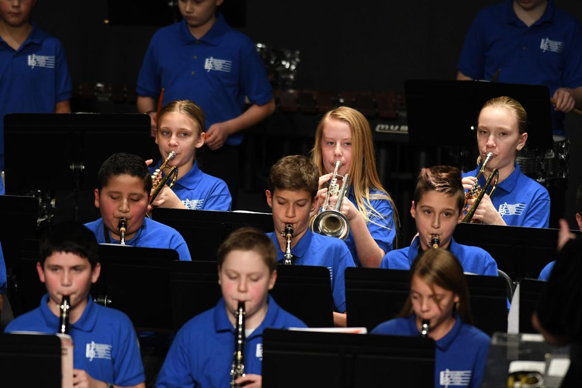 Philomath Middle School concert