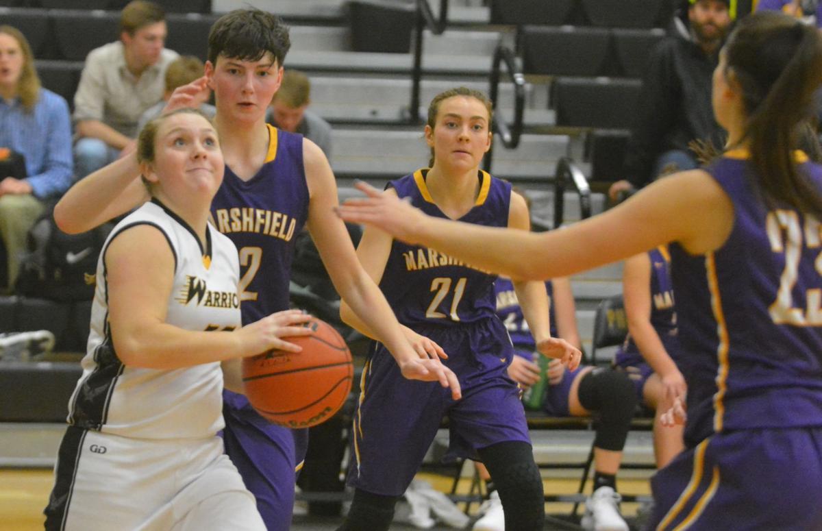 PHS girls basketball: Olivia Jahn-McClaren