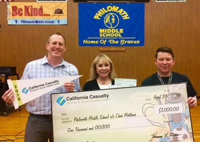 California Casualty grant to PMS