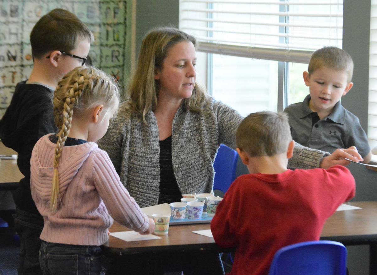 SRF preschool teacher Sunny Bennett