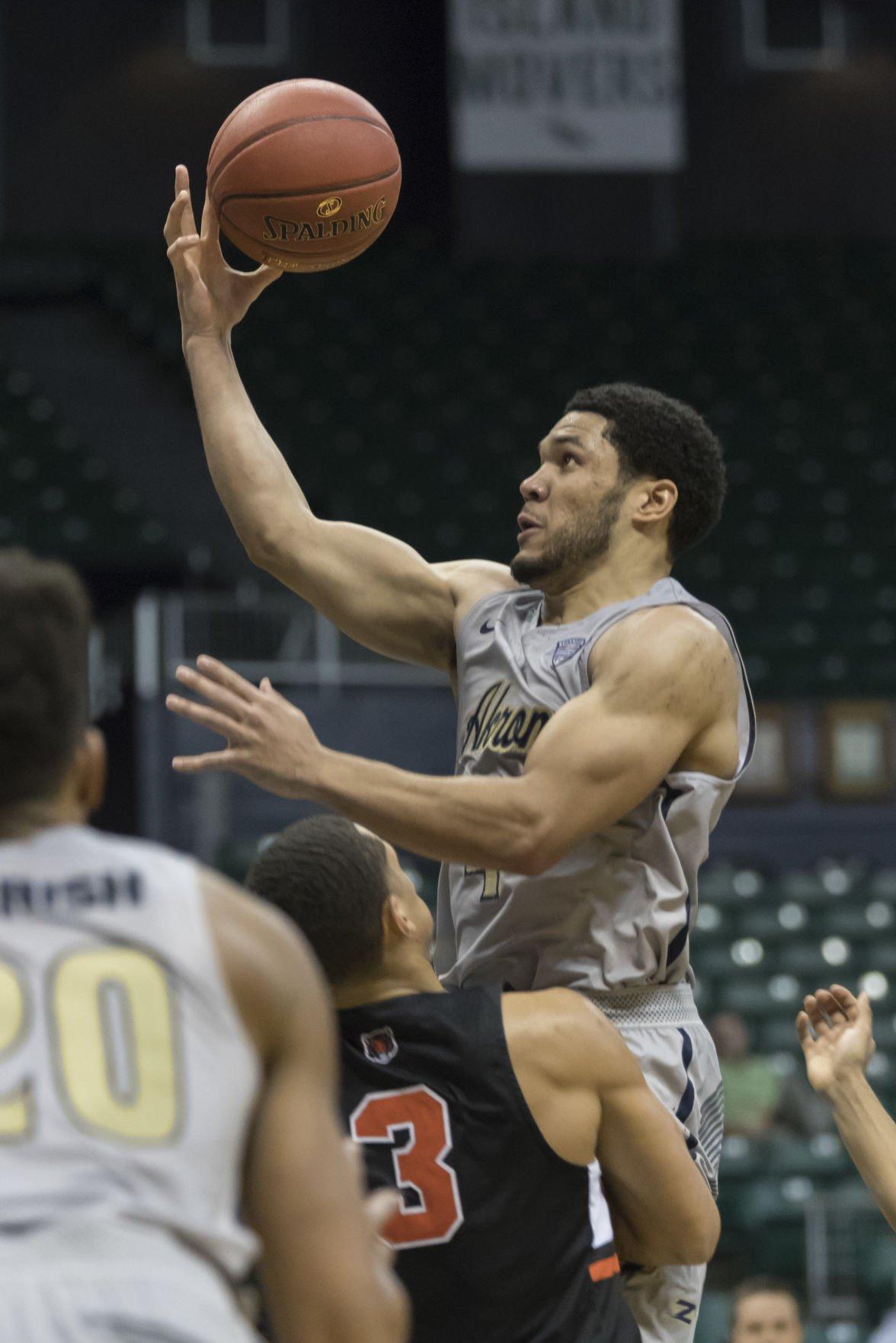Princeton Akron Basketball